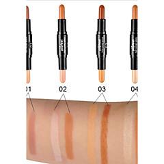 1Pcs Double-Color Contour Concealer Hide Blemish Dark Circle Cream Concealer Base Cream Contouring Camouflage Foundation