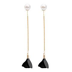 Drop Earrings Earrings Set Earrings Dangle Earrings Jewelry Women Wedding Party Casual Alloy Rhinestone 1 pairBlack Red Blue Pink Sky