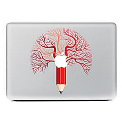 1 stk Motstår Risser Spill med Apple-logo Gjennomsiktig plast Klistremerke Mønster TilMacBook Pro 15'' med Retina MacBook Pro 15 ''