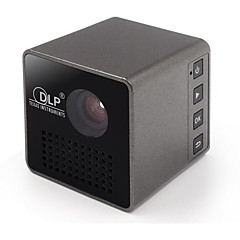 DLP nHD (640x360) Projector,LED 15/30 Mini Portable HD DLP Projector