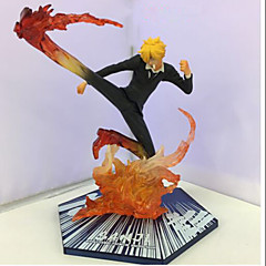 Anime Action Figurer Inspirert av One Piece 山治 PVC 15.5 CM Modell Leker Dukke
