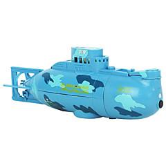 Sukellusvene HuanQi Kilpavene RC Boat Sähköharja 4 - Sininen