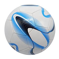 Football(Blanc Bleu,PVC)Haute élasticité Durable