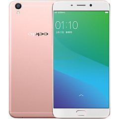 "OPPO R9 Plus 6.0 "" 5.1 Android טלפון חכם 4G (SIM כפול Octa Core 16MP 4GB + 64 GB ורוד מוזהב)"