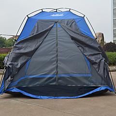 True Adventure 2 personer Telt Enkelt Folde Telt Et Værelse camping telt 1000-1500 mm Fiberglas Vandtæt Regn-sikker Foldbar-Vandring