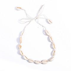 チョーカー ジュエリー ジュエリー 貝殻 シェル ファッション あり 欧米の 手作り 欧風 ジュエリー 用途 日常 カジュアル