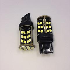 高出力の白色10ワットT20 7443 w21w 60smd 2835チップは、電球のバックアップがランプDC12V 2個を逆に導きました