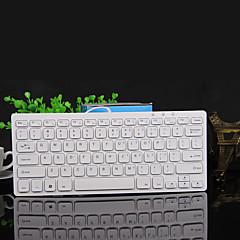 mini eksternt tastatur usb bærbare tastatur ultra-tynn mini tastatur sjokolade kablet datamaskin tastatur