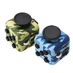 angst reliever være rastløs terningerne kubisk terning pille legetøj til fokusering / stress lindre abs - camouflage