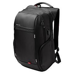 Kingsons notebook mochila mochila laptop à prova d'água de 15,6 polegadas para mulheres dos homens usb externa saco de computador carga