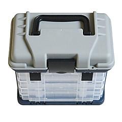 como imagem de pesca de plástico de pesca em geral impermeável caixa de equipamento