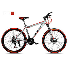 Mountain Bike Cycling 21 Speed 26 Inch/700CC Double Disc Brake Suspension Fork Non-Damping Ordinary/Standard Anti-slip Aluminium Alloy
