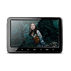 10.1 Inch 1024*600 HD Digital TFT Screen Ultra-thin Design Touch Button Car Headrest DVD Player with USB/SD/FM/IR/ Wireless Game and HDMI Port