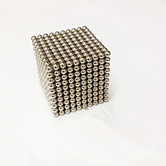 Magnetiske leker 1000 Deler MM Stress relievers Magnetiske leker Magiske kuber Administrative Leker Kubisk Puslespill som Gave