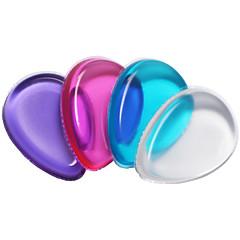 pçs Esponja de Pó de Arroz/Esponja de Maquiagem Silicone Others Elipse 6.4*4.5*1