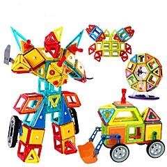 Építőkockák Fejlesztő játék mágneses Blocks Ajándék Építőkockák Négyzet Körkörös Trokuti 2 és 4 éves 5 és 7 éves 8 és 13 éves 14 Évek és