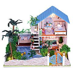 Spieluhr Quadratisch Urlaubszubehör Holz Unisex
