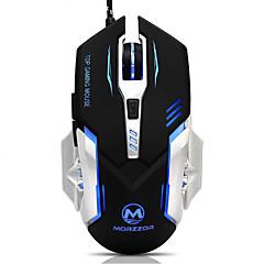 Qualität usb 6d verdrahtet optische bunte Computer-Gaming-Maus mit Slient-Taste für Gamer
