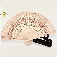 """Tuulettimet ja aurinkovarjot-1 Piece/Set Kukin / Set Hand Fans Vegas-teema Koruton Teema Hand Hook10 1/5 """"LX 12 3/5"""" halkaisijaltaan"""