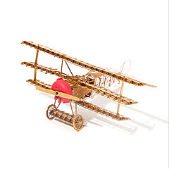 Puzzle 3D puzzle Stavební bloky DIY hračky Letadlo 1 Kov Modelování