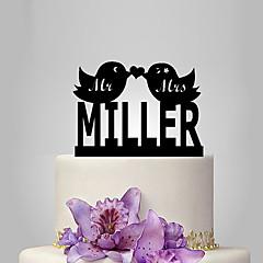 케이크 장식 개인화 클래식 커플 아크릴 웨딩 기념일 결혼 측하 가든 테마 클래식 테마 페어리 테일 테마 OPP