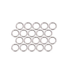 20/pcs TSURINOYA Strengthen Lure Split Ring for Crank bait O-shaped Ring Fishing Ring Fishing Tool Lure Ring Fishing Accessory