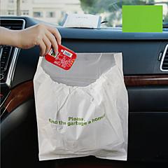 3kpl auto jätesäkki kertakäyttöinen automaattinen roska pussi pentueen suuren kapasiteetin tiiviisiin kannettavat kätevä