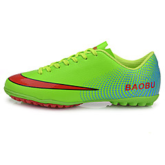 Soccer Cleats Football Boots Kid's Anti-Slip Anti-Shake/Damping Wearproof Breathable Outdoor Low-Top PVC Leather Soccer/Football
