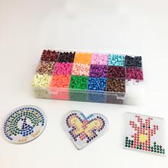 Sada na domácí tvoření Vzdělávací hračka Puzzle Kreslení Novinky a žertovné hračky Kulatý Čtvercový Tvar srdce Plast EVA