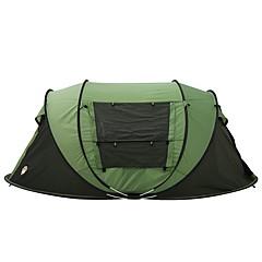 3-4 henkilöä Teltta Kaksinkertainen teltta Yksi huone Upota teltta varten Retkeily Matkailu 2000-3000 mm 200*280*120 CM