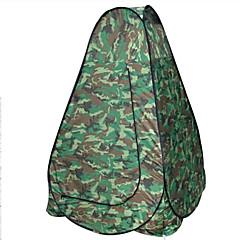 1 személy Sátor Dupla Összecsukható sátor Egy szoba kemping sátor 2000-3000 mm Üvegszál Oxford Vízálló Hordozható-Túrázás Kemping-