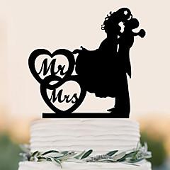 קישוטים לעוגה זוג קלסי חתונה Party אירוע מיוחד יום הולדת מסיבה / ערבנושא חוף נושאי גן נושא פרפר נושא קלאסי נושא אגדות חתונה משפחה