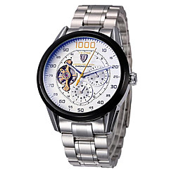 Tevise Men's Couple's Sport Watch Dress Watch Fashion Watch Mechanical Watch QuartzCalendar Water Resistant / Water Proof Hollow