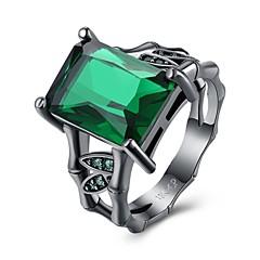 指輪 クリスタル キュービックジルコニアベーシック ユニーク 幾何学形 友情 ファッション シンプルなスタイル ビンテージ ブリティッシュ ボヘミアスタイル クラシック パンクスタイル 愛らしいです あり ヒップホップ アレルギー対策 両面 かわいいスタイル 欧米の 手作り