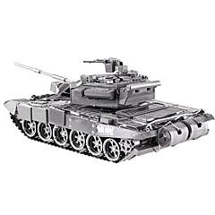 Puzzle 3D puzzle Stavební bloky DIY hračky Tank Kov Modelování