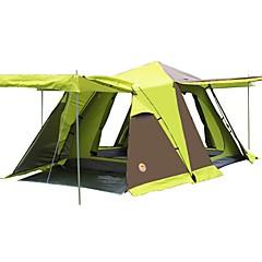 CAMEL 3-4 사람 텐트 더블 베이스 캠핑 텐트 원 룸 버스티뷸 포함 접이식 텐트 용 CM