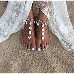 Žene Kratka čarapa/Narukvice Legura Moda Ručno izrađen Teardrop Jewelry Za Dnevno Kauzalni 2pcs