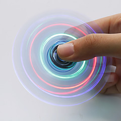 Fidget Spinner LED Hand Spinner Toys ABS EDC LED light Stress and Anxiety Relief Office Desk Toys for Killing Time Focus Toy Relieves