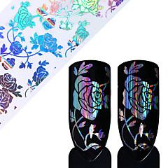 1 Стикер искусства ногтя Фольга зачистки ленты макияж Косметические Ногтевой дизайн