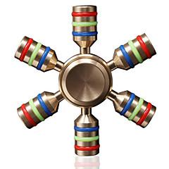 Toupies Fidget Spinner à main Jouets Jouets Céramique Laiton EDCPour le temps de tuer Focus Toy Soulagement de stress et l'anxiété Jouets