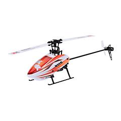 XK RC Helikopter 6CH Vezérlő 6 Tengelyes 2,4 G - Narancssárga Szénszál
