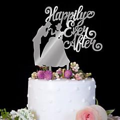 Kagedekorationer Høj kvalitet Bryllup Fødselsdag Bryllup Fødselsdag PVC-taske
