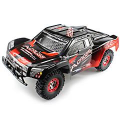 WL Toys 12423 Truggy 1:12 Bürster Elektromotor RC Auto 50 2.4G Fertig zum MitnehmenFerngesteuertes Auto Fernsteuerung/Sender USB Kabel