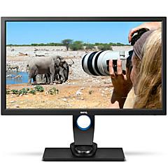 benqコンピューターモニター27インチips 2k 99%argbプロカメラマン用2560 * 1440 dvi hdmi dp usb