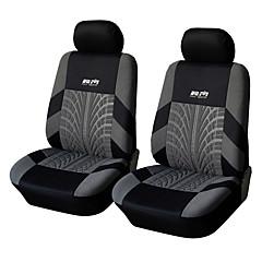universell passend für Auto, LKW, Geländewagen, oder van Polyester Autositzbezug vorne Sitzbezug (4 Stück Set)