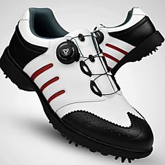 Golfschuhe Herrn Golf tragbar Atmungsaktiv Traning Bequem Sport in der Natur Leistung Training Sportlich Nappaleder Leder Gummi
