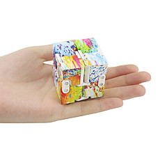 Rubik's Cube Cubo Macio de Velocidade Alivia Estresse Plásticos