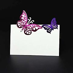 נייר פנינה כרטיסי מקום סגנון עמידה