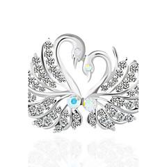 Damen Broschen Imitation Diamant Tier Design Vogel Schmuck Für Hochzeit Party