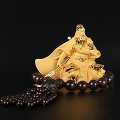 Diy ornamentos automotivos Deus da riqueza benção guan yu carro pingente&Ornamentos de resina